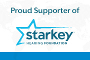 Starkey Hearing Foundation Proud Supporter